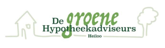 Logo van De Groene Hypotheekadviseurs Heiloo