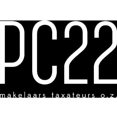 Logo van PC22 makelaars taxateurs