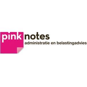 Logo van Pinknotes, administratie en belastingadvies