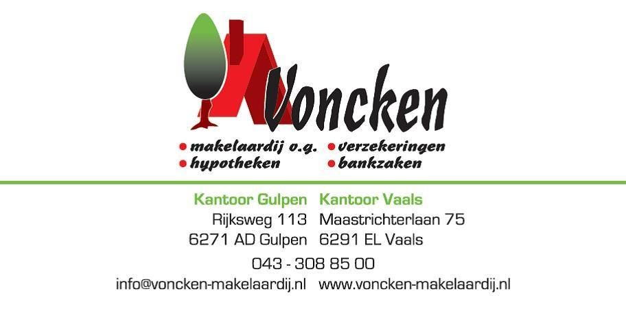 Logo van Voncken makelaardij o.g., verz., hyp. en bankzaken