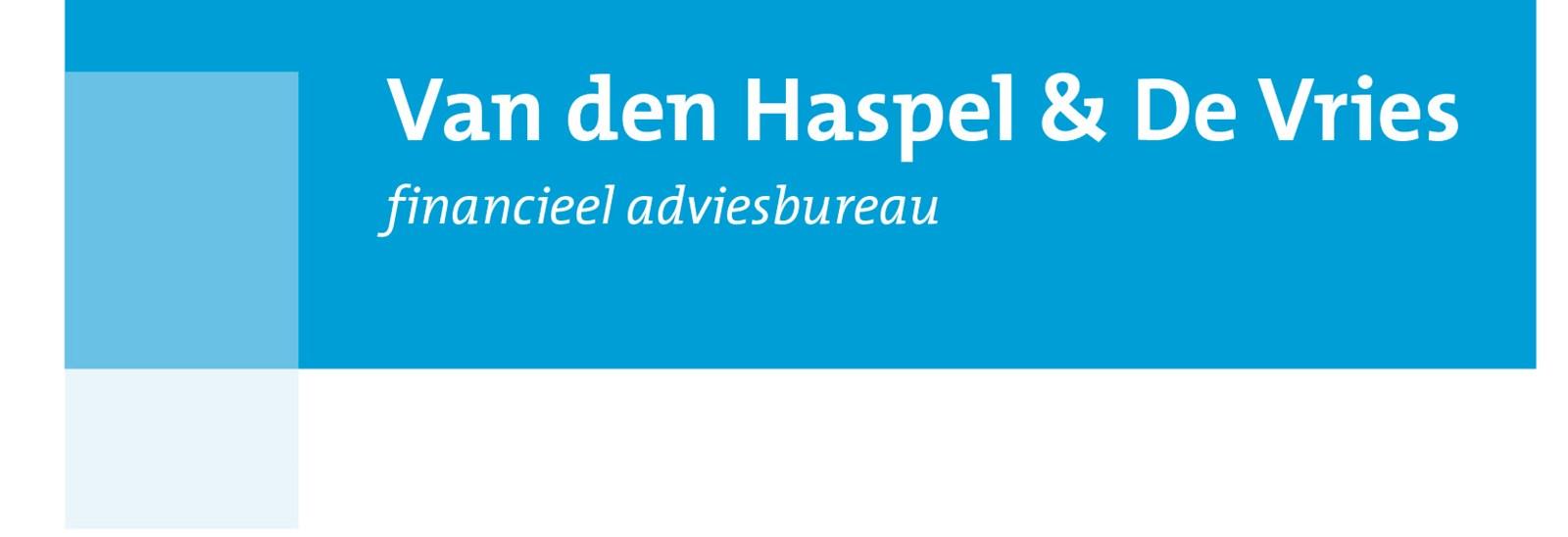 Logo van Financieel Adviesbureau Van den Haspel & De Vries
