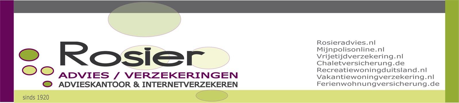 Logo van Rosier verzekeringen en advies