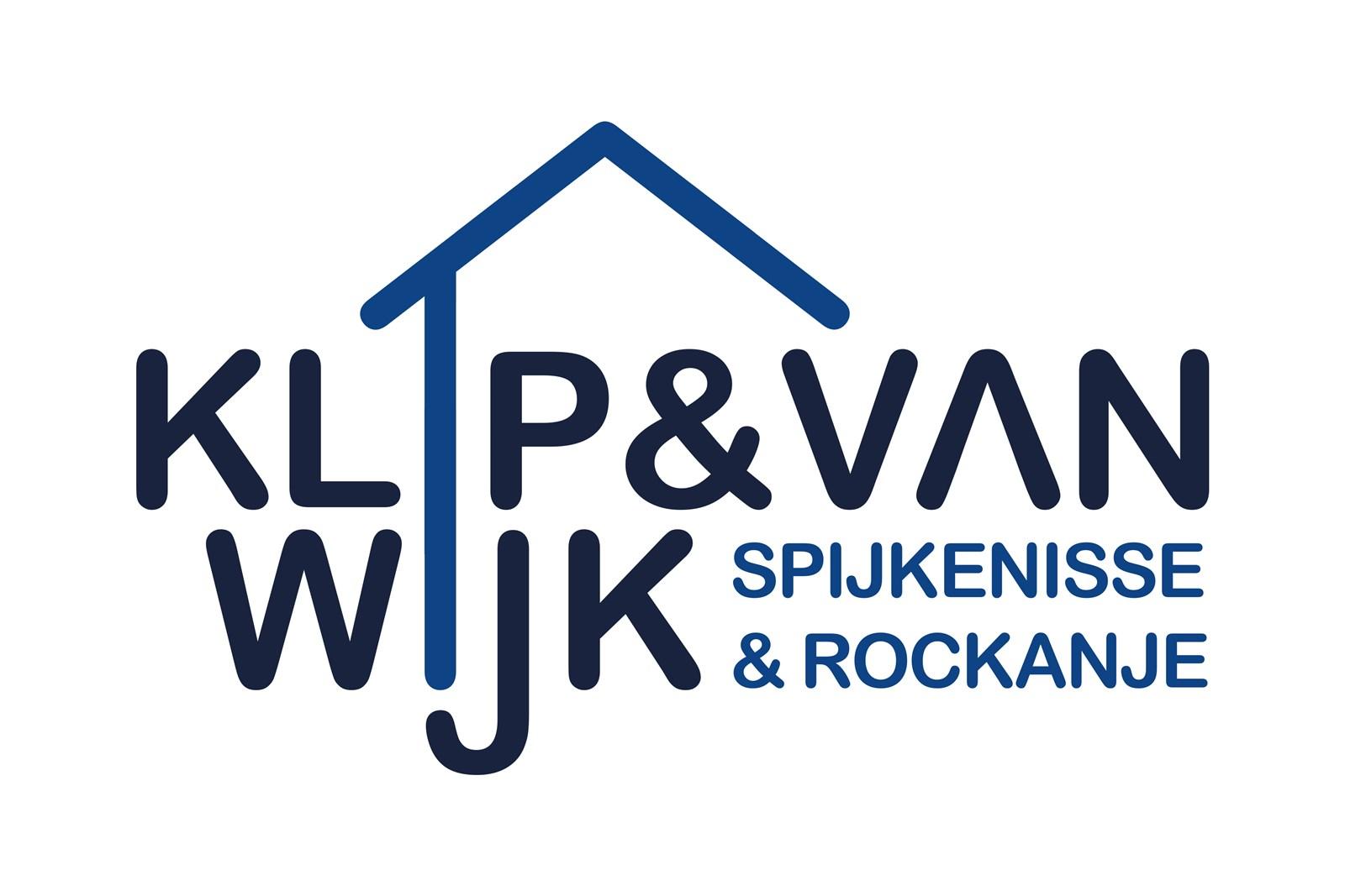 Logo van Klip + van Wijk Makelaars
