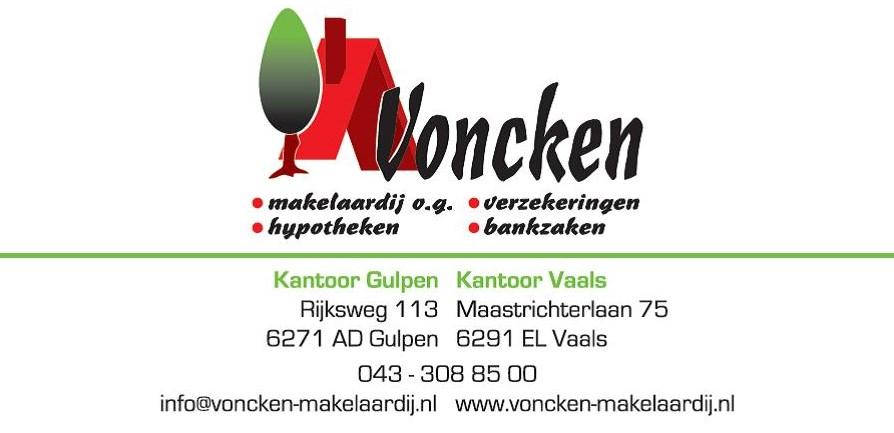 Logo van Voncken makelaardij o.g., verz.. hyp. en bankzaken