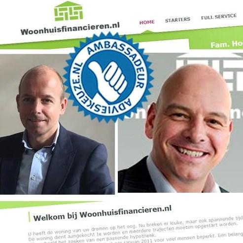 Logo van Woonhuis Financieren en Makelaar Den Haag
