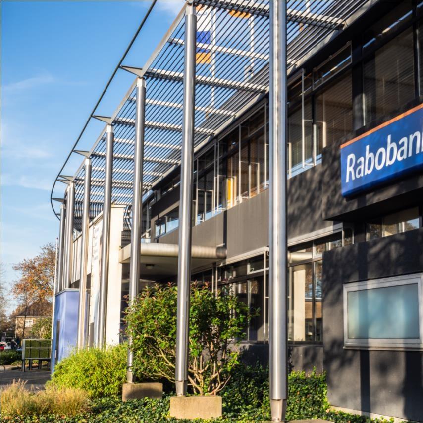 Foto van Rabobank kantoor Burgum