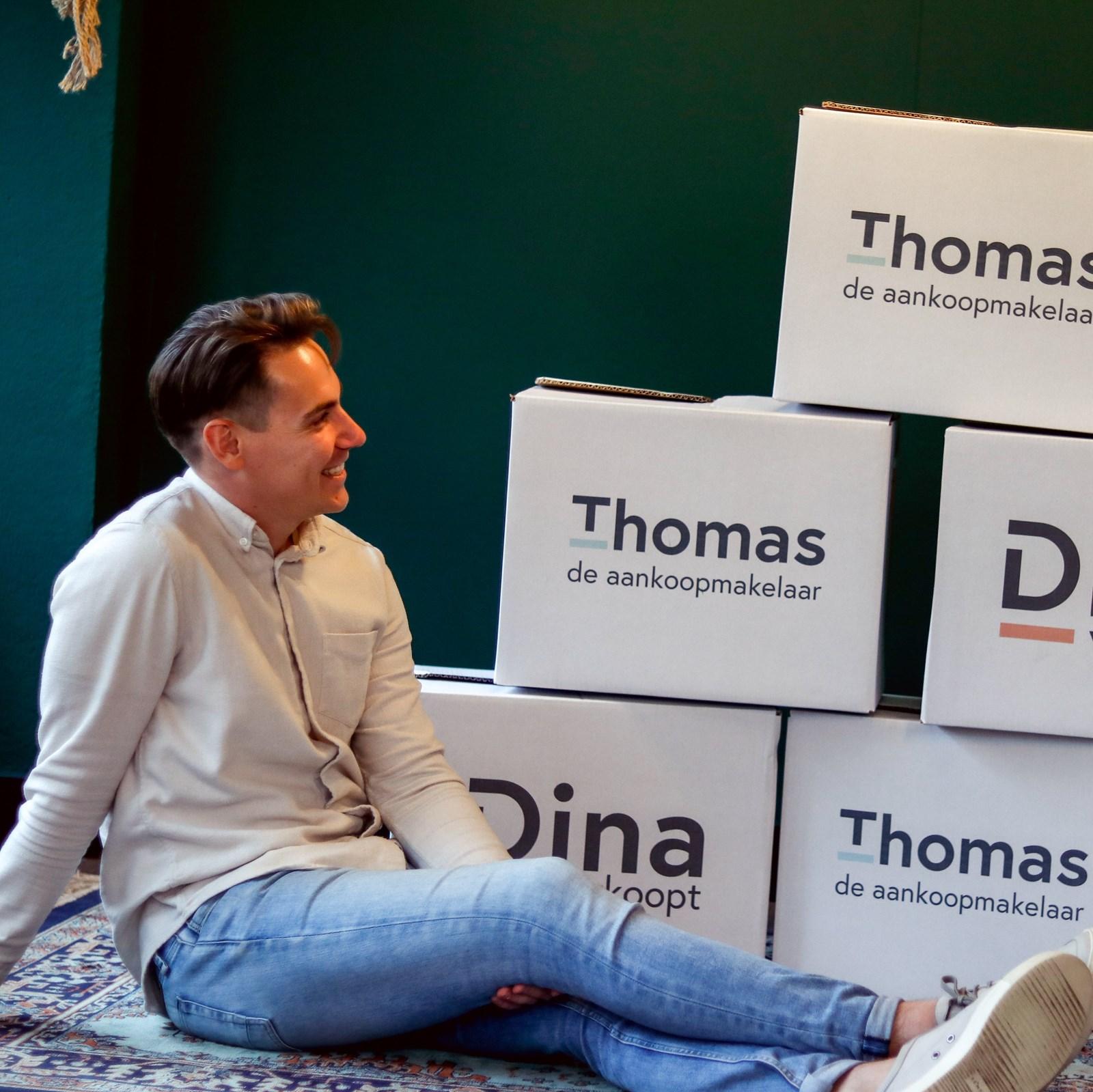 Foto van Thomas de aankoopmakelaar