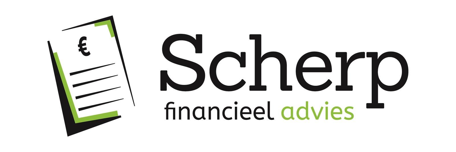 Logo van Scherp Financieel Advies
