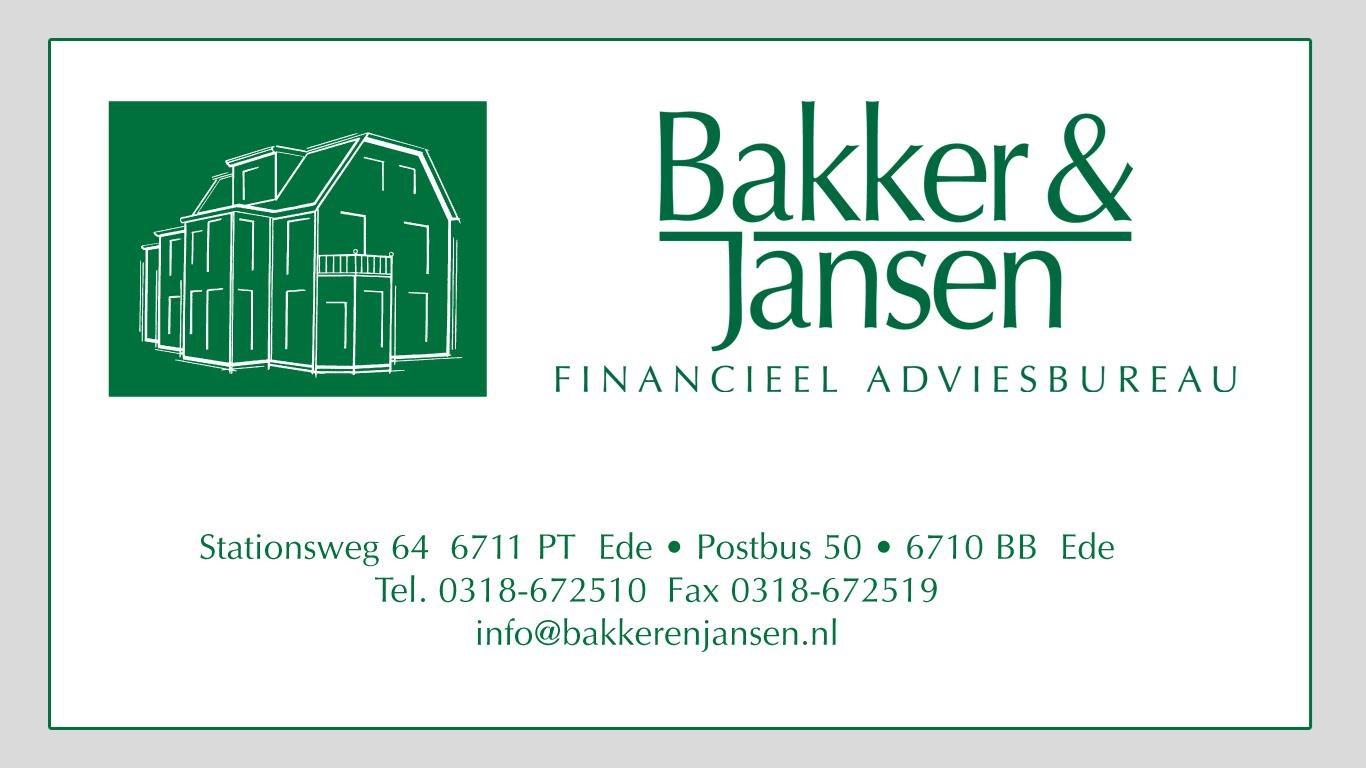 Afbeelding van Bakker & Jansen Financieel Adviesbureau