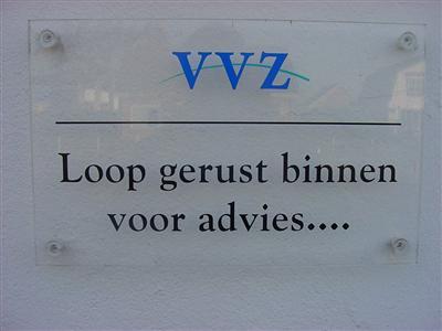Logo van VVZ financieel advies centrum