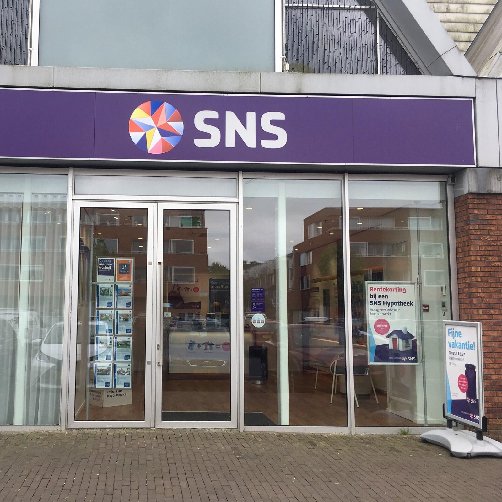 Foto van SNS Groningen