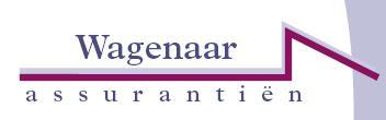 Logo van Wagenaar Assurantiën