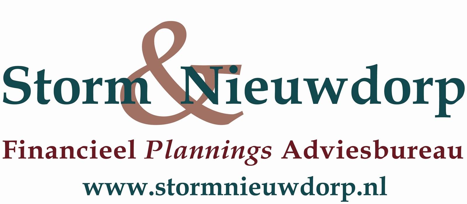 Logo van Storm & Nieuwdorp Financieel Plannings