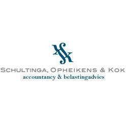 Logo van Schultinga, Opheikens & Kok