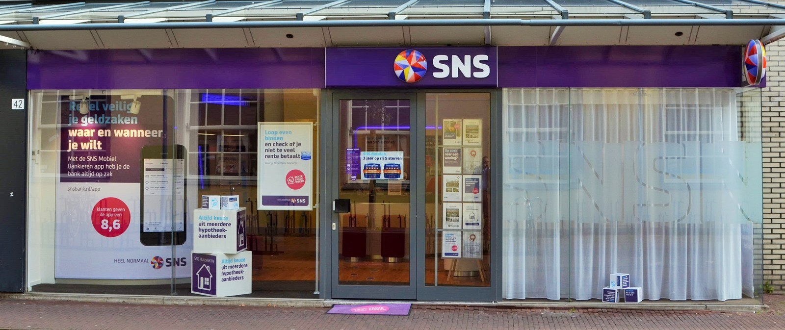 Logo van SNS Gouda