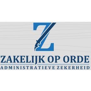 Logo van Zakelijk op orde